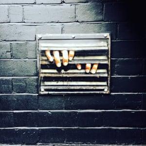 Mysterious hands...Photograph: Alessandra Distefano/GuardianWitness