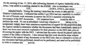 From a report released by the CIA inspector general in July 2014
