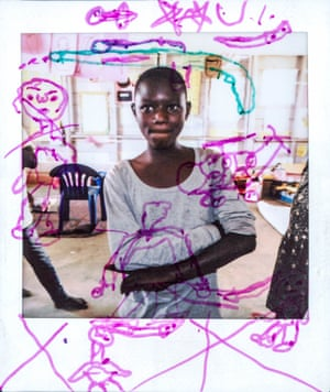 Prisca,14, from the DRC