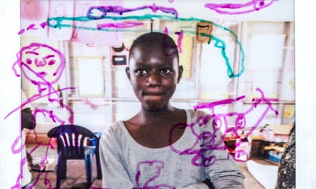Snapshot of hope: child refugees share their dreams through Polaroids – in pictures