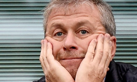 Roman Abramovich was not at Wembley to see his team win the FA Cup.