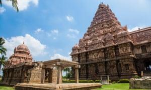Gangaikondacholapuram temple in Tamil Nadu.