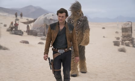 Box-office bomb … Alden Ehrenreich in Solo: A Star Wars Story.