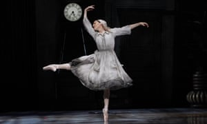 Softly expansive solos … Leanne Stojmenov in Cinderella.