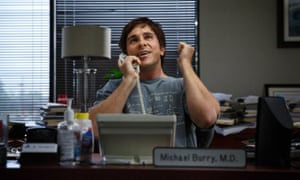 The big win ... Christian Bale in The Big Short, which is now the frontrunner for best picture at the Oscars.