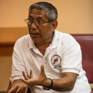 Elmer Rodriguez, chairman of the national fishermen's cooperative.