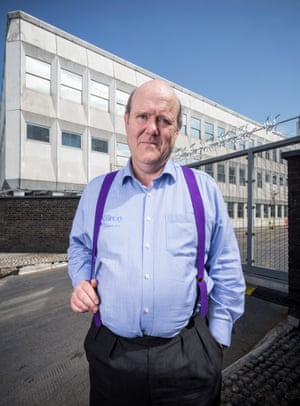 Rupert Soames CEO of outsourcing company Serco.