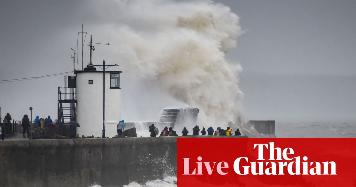 Storm Dennis: Met Office issues red warning for South Wales – live updates