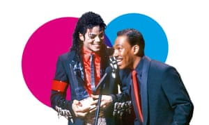 Michael Jackson and Eddie Murphy.