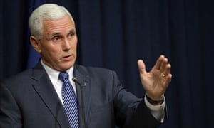 Before he was Trump's running mate, Mike Pence led the anti