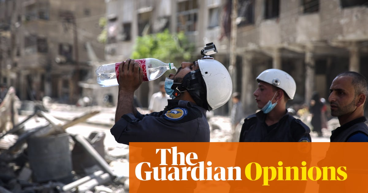 f4747ca87 The Guardian view on the Nobel peace prize  give it to Syria s White Helmets