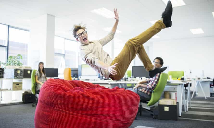 The government has set aside $140m for the innovationXchange program, including a generous allowance for beanbags.