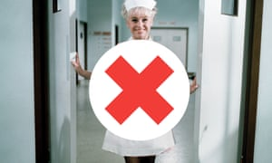 Uniform stereotype … Barbara Windsor in Carry on Doctor, 1967.