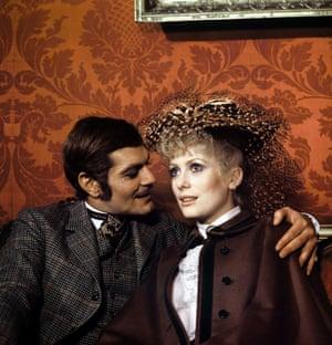 Omar Sharif and Catherine Deneuve in Mayerling, 1968