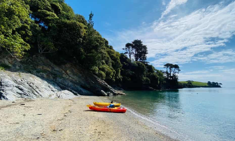 Koru Kayaking runs trips from the Helford River.