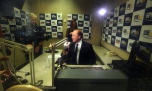 Peter Dutton at a radio interview