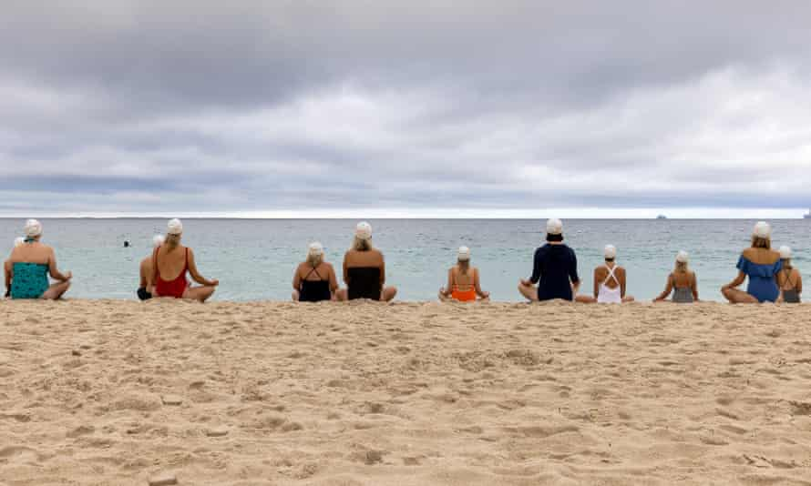 Perth meditation coordinated by artist Andrew Baines to highlight mental health organisation Meeting for Minds.