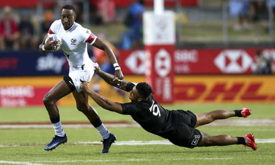 Players such as Perry Baker have helped the US become a force in sevens