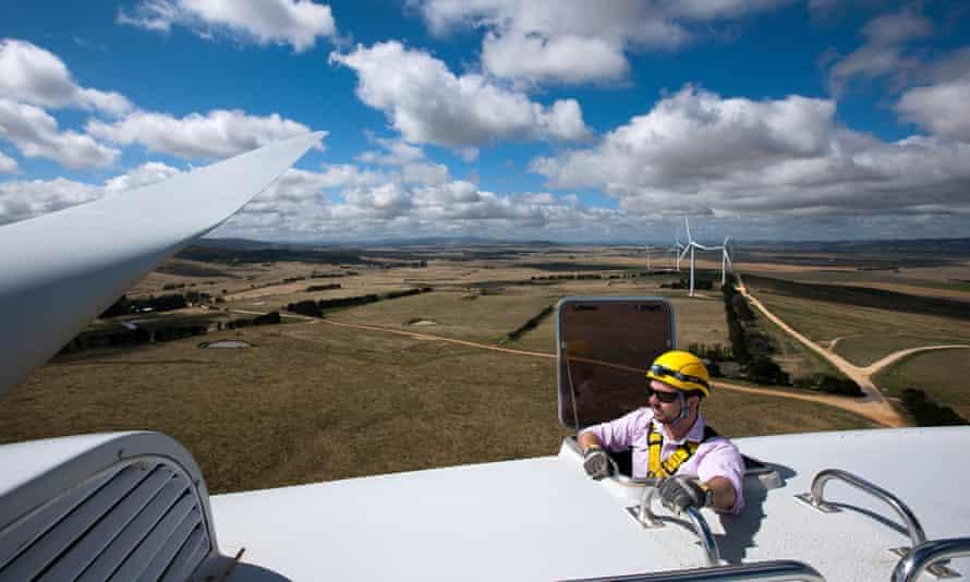 Capital Wind Farm in Bungendore