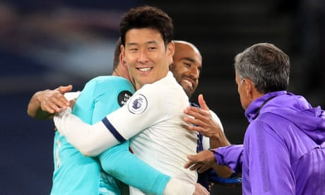 José Mourinho thrilled with 'beautiful' row between Spurs' Son and Lloris
