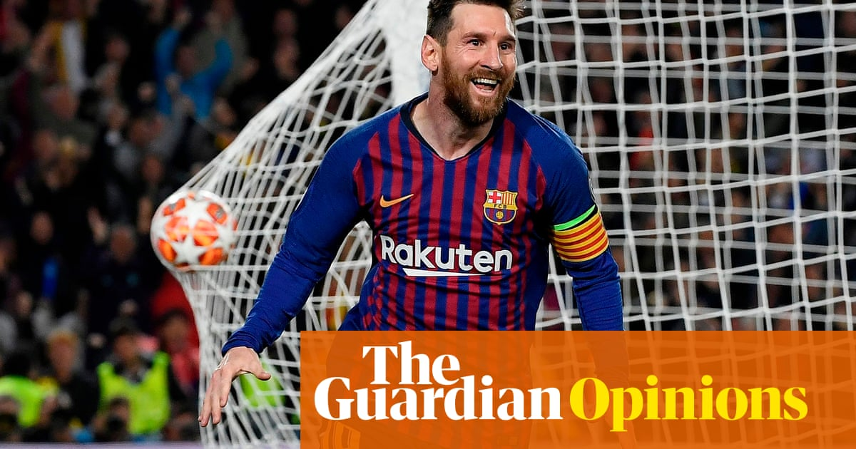 9b5a3f2ed64 Klopp took a risk with his tactics at Barcelona – and Messi made him ...