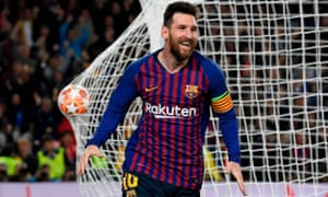 A re-energised Lionel Messi showed why Barcelona are so difficult to play against.