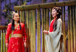 The opera was commissioned as 'a lyrical, harmonically consonant piece with a lot of Chinese folk colour.'