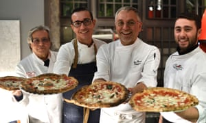 Neapolitan pizza makers celebrate making it on to Unesco's intangible cultural heritage list.