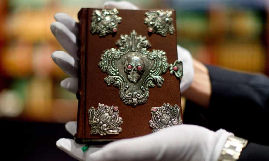 Publisher Barry Cunningham's copy of The Tales of Beedle the Bard was created, handwritten and illustrated by JK Rowling.