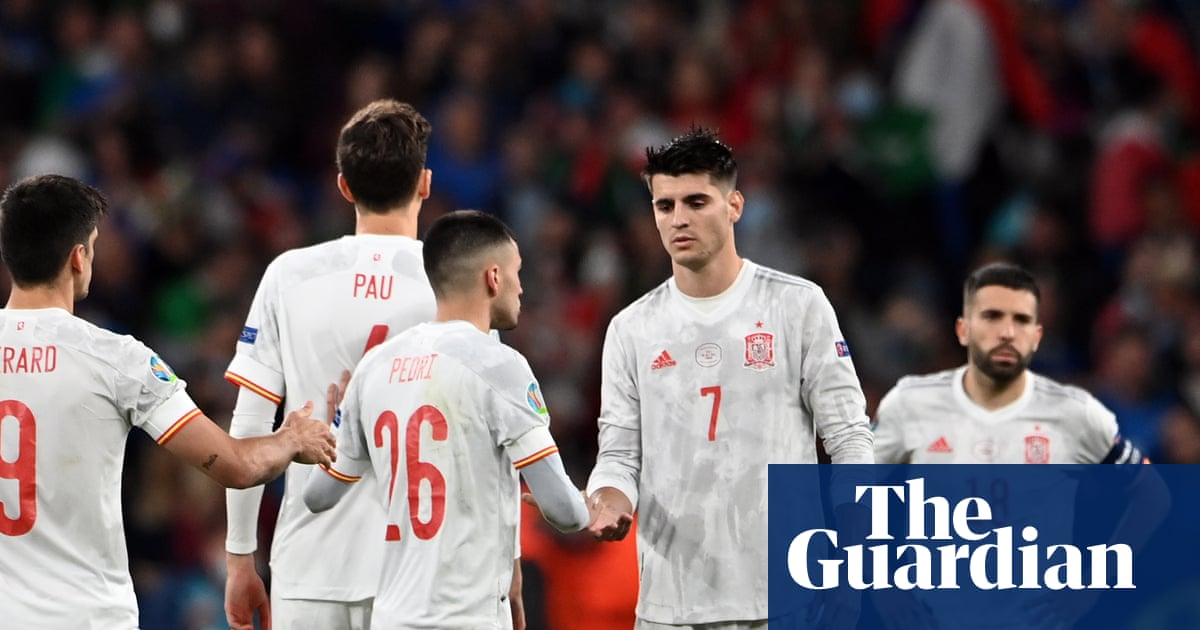 Álvaro Morata wins hearts for Spain but falls short in cruel penalty twist