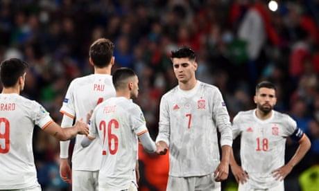 Álvaro Morata wins hearts for Spain but falls short in cruel penalty twist | Sid Lowe