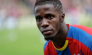 Wilfried Zaha is valued at close to £100m by Crystal Palace, well above Arsenal's approach.