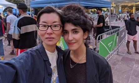 Fuyuko and Esther.