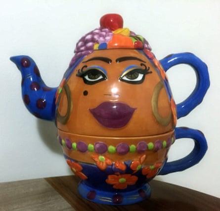 Carmen Miranda teapot