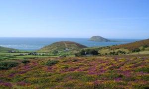 View from Mynydd Mawr Campsite, Llyn Peninsula, Wales