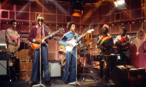 'Best of all' … Bob Marley and the Wailers on The Old Grey Whistle Test in 1973.