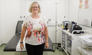 Angie Young, health and wellbeing manager at Hinkley Point C.
