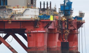 Greenpeace steps up BP oil rig drilling protest | Environment | The Guardian