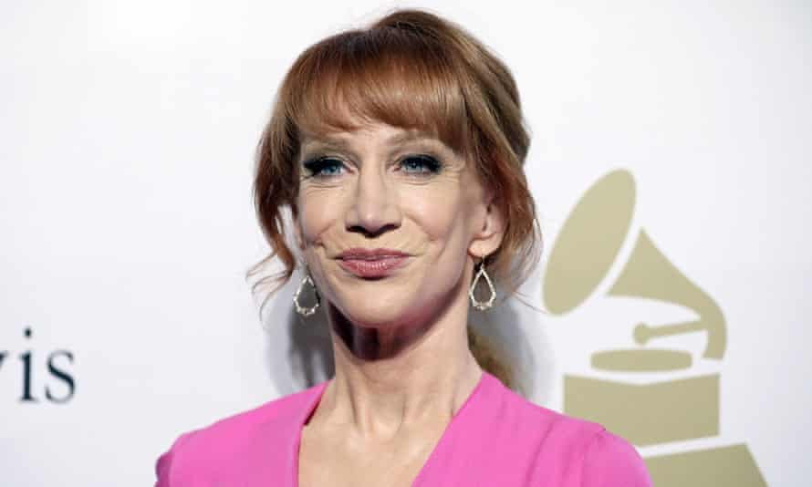 Kathy Griffin deleted the pictures from her Twitter account and said: 'I went too far. I sincerely apologize.'