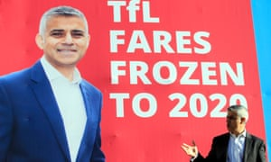 Forecast income from Crossrail was to fund a fare freeze introduced by the mayor, Sadiq Khan.