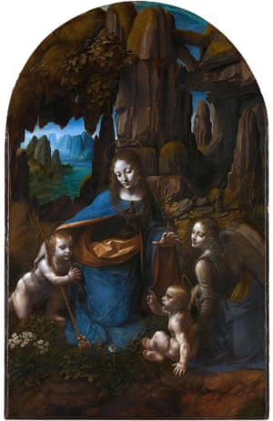 The Virgin of the Rocks by Leonardo da Vinci. Wehlte wrote to the National Gallery over the cleaning of the painting.