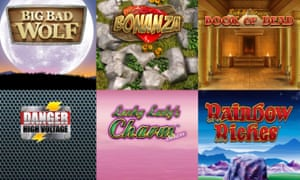 Games on offer at Casumo including Big Bad Wolf and Danger High Voltage