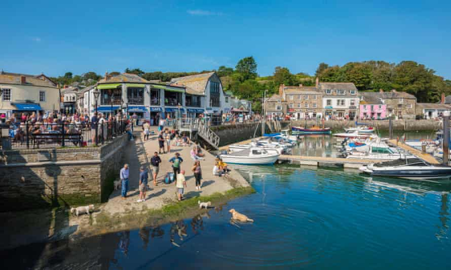 Padstow in Cornwall.