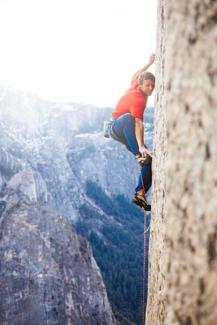 No ropes attached: behind two heart-racing free climbing