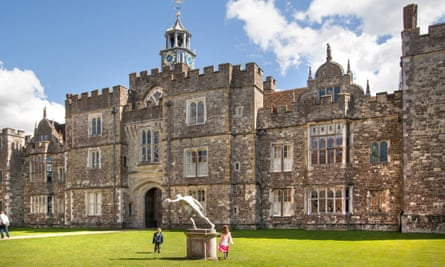 Knole House, home of the Sackville-Wests.