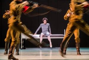 Natalia Osipova (Anna Anderson) in Anastasia by The Royal Ballet at the Royal opera House