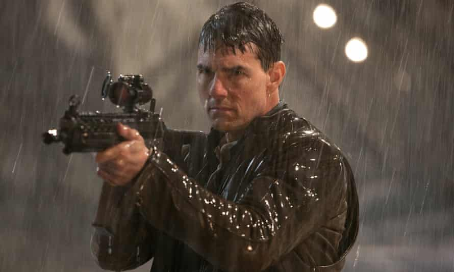 Tom Cruise in Jack Reacher, (2012), directed by Christopher McQuarrie.