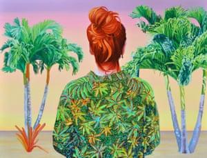 Lindsay Lohan en Miami by Alejandra Atarés