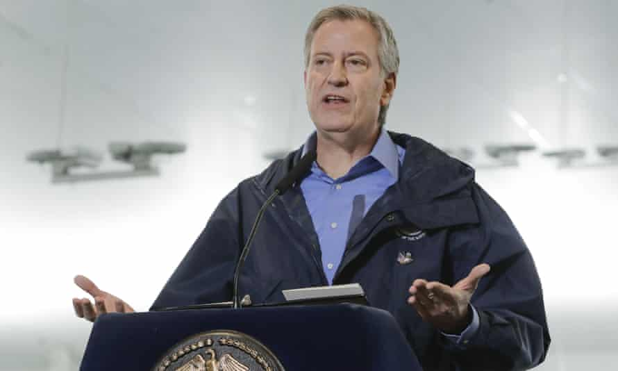 On Wednesday morning Bill De Blasio apologized at a press event for a heavy-handed response.
