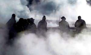 chile geysers
